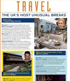 Travel- The UK´s Most Unusual Breaks